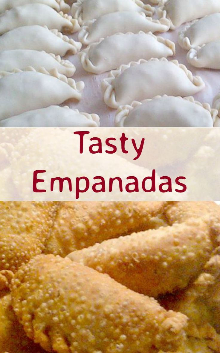 Tasty Empanadas - Great party food! Serve warm or cold, delicious either way.