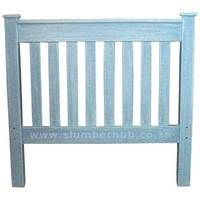 Headboard Slatted with Posts