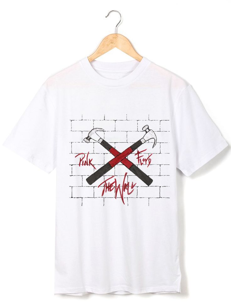 pink floyd the wall Hammer symbol prints soft tee t-shirt #Affiliate