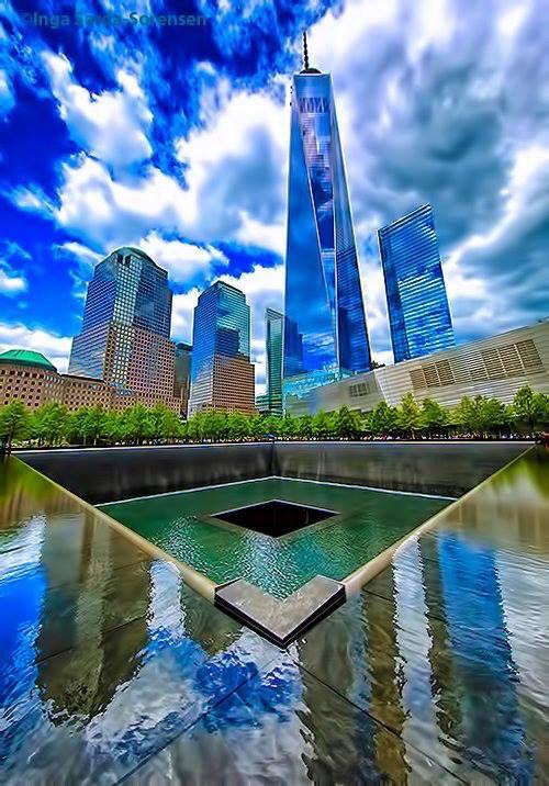 Greet shot One World Trade Center from Good morning America