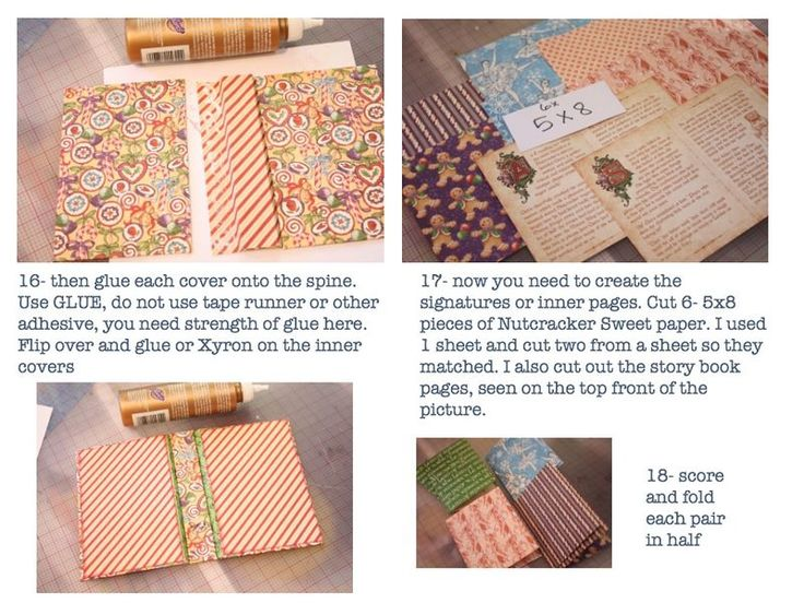 Graphic 45 Nutcracker Book Tutorial by @Denise H. H. H. Hahn: Image 7 of 10