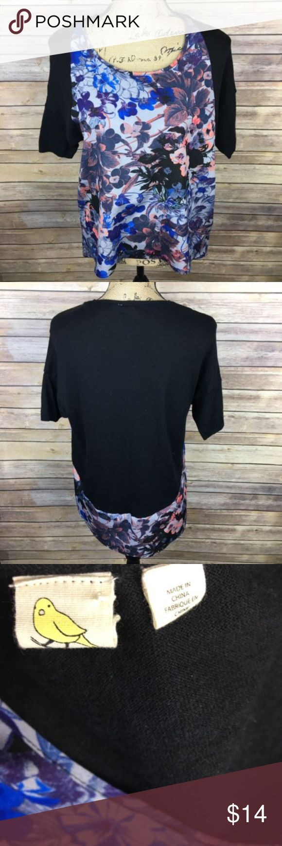 288 Best My Posh Closet Images On Pinterest Bpoi The Colours Of Indonesia Tees Black Yellow Bird Sz Medium Blue Floral Top Pre Owned Womens Knit Size Pink Short Sleeve Bust Is 19 Inches Laying