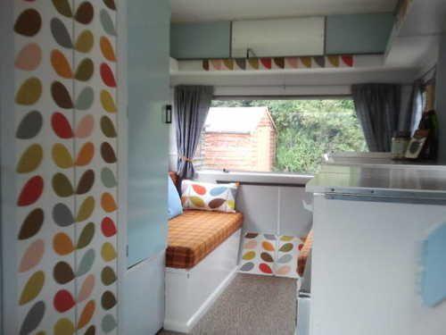Orla Kiely refurbished vintage retro 70's caravan | eBay