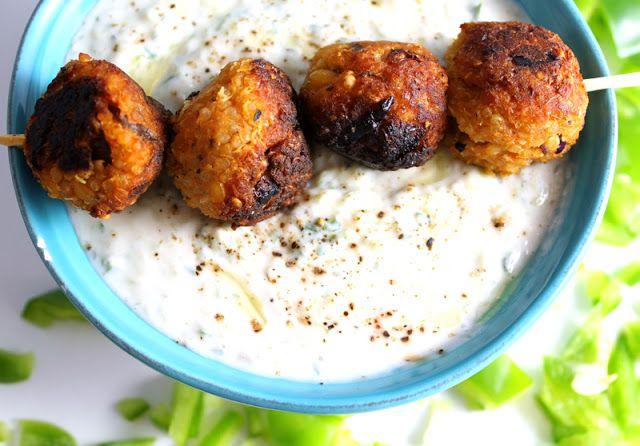 Oppskrift Kikertboller Quinoa Vegansk Kjøttfri Kjøttboller Uten Kjøtt Vegetarburger Veganburger Kikerter Bønner Tapas