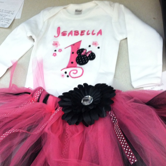 Bella s minnie outfit children pinterest outfit