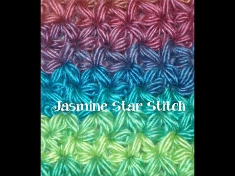 How to Crochet a Jasmine Star with Videos