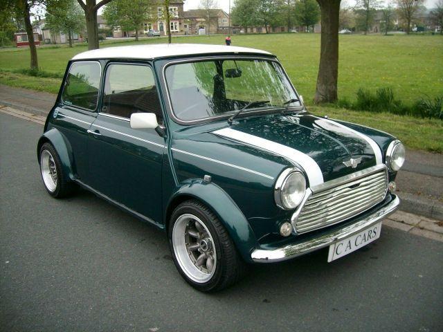 austin mini cooper..........one of my tiny dream cars