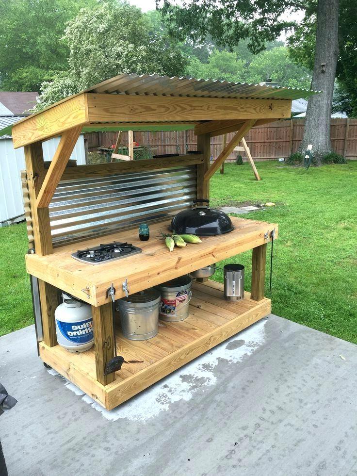 53 Magnificent Outdoor Kitchen Decor Ideas On A Budget Outdoor Kitchen Decor Simple Outdoor Kitchen Outdoor Kitchen Design
