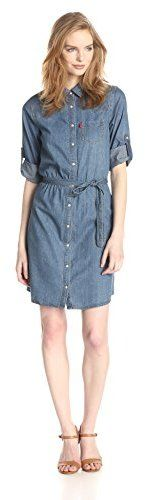 Levi's Women's Denim Shirt Dress