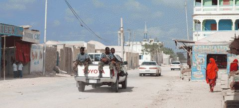 Government Security Forces in Bosasso