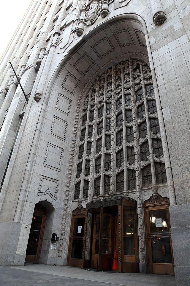 Pacific Bell Building Architecture San Francisco