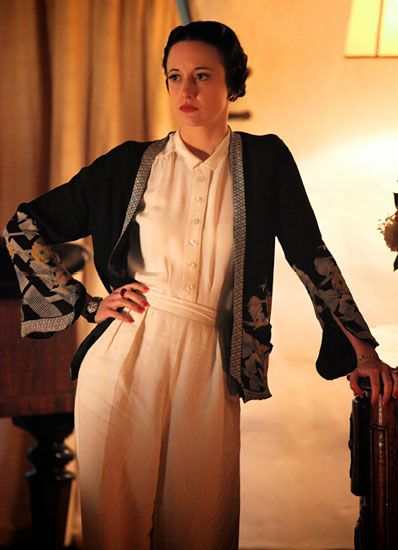 Andrea Riseborough as Wallis Simpson in Madonna's W.E.