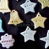 Salt dough gift tags & ornaments at Bliss and Bloom:  blissandbloomblog.blogspot.com/2011/11/make-salt-dough-gift-tags-ornaments.html