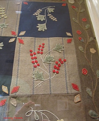Wouldn't this quilt be gorgeous in wool...backed with Japanese brown fabric!!