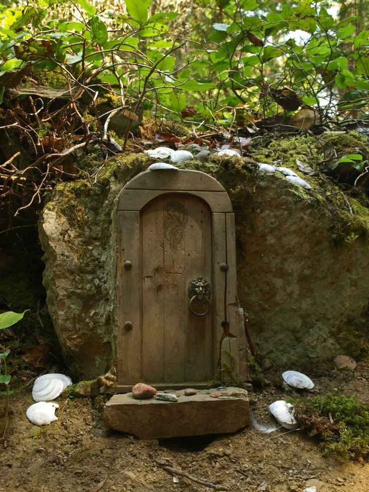 17 Best Images About Faerie Doors Of Salt Spring Island On