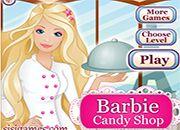 Barbie Candy Shop | juegos de cocina - jugar online