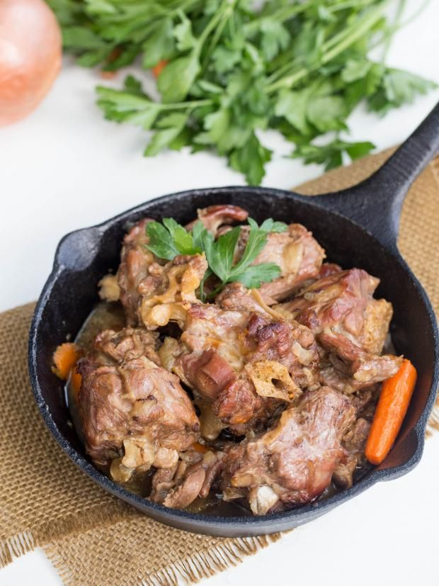 Turkey Necks Recipe Recipe Good, next time only boil 1.5 hrs & also add  worcestershire-thicken with Rou/flour, dont use cornstarch & simmer another 30 min.