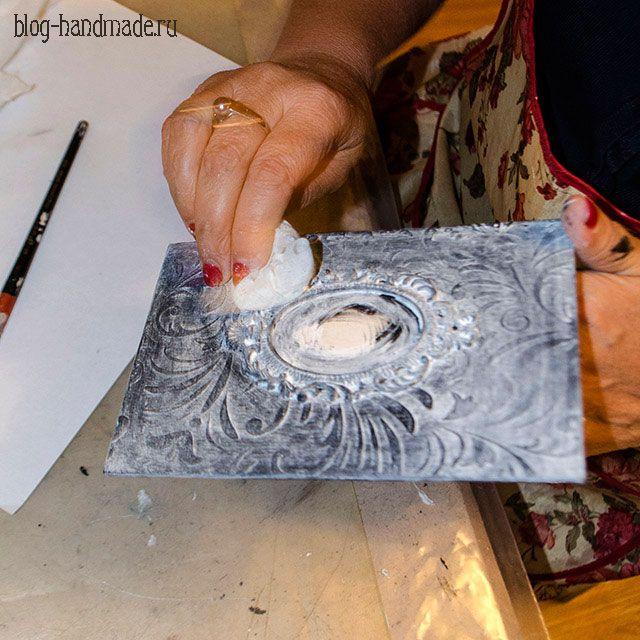 Пошаговый фото мастер класс по декупажу шкатулки книги для украшения интерьера своими руками