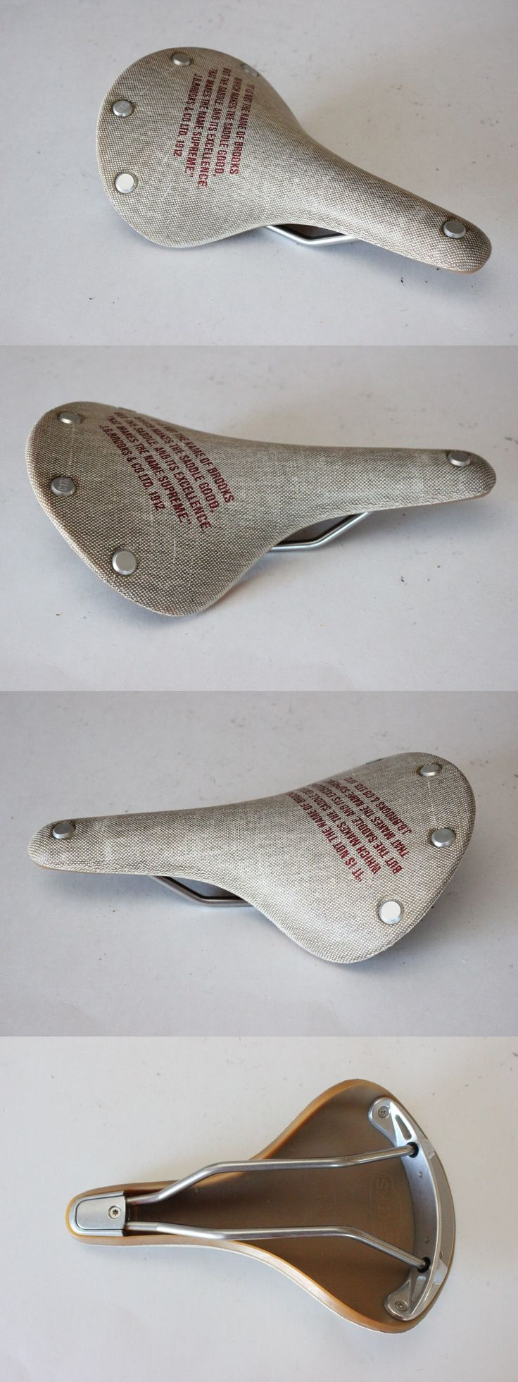 Saddles Seats 177822: New Brooks England C17s Cambium Womens Saddle Natural Road Bike Comfort 162Mm -> BUY IT NOW ONLY: $99.99 on eBay!