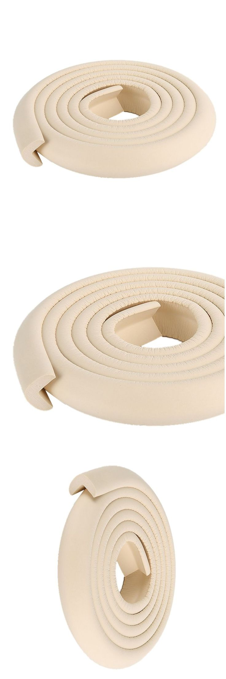 2M Children Protection Table Guard Strip Baby Safety Products Glass Edge Furniture Horror Crash Bar Corner  (beige)
