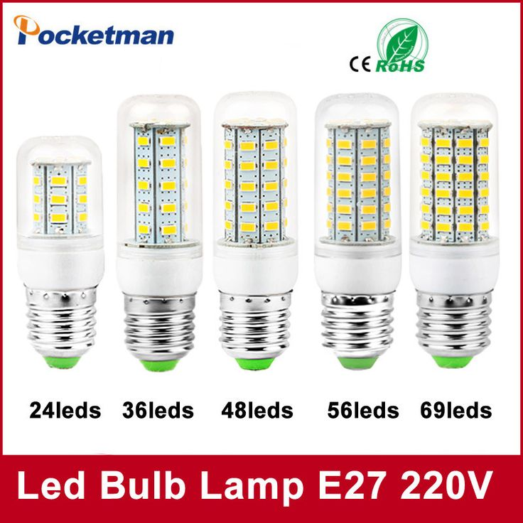 1Pcs E27 E14 LED Corn Bulb 220V 110V SMD5730 LED lamp Spotlight 24LED 36LEDs,48LEDs,56LEDs,69LEDs Fo-  Item Type: LED Bulbs  Brand Name: POCKETMAN  Beam Angle(°): 180°  LED Chip Brand: Edison  Average Life (hrs): 50000  Base Type: E27  Shape: Annular  Voltage: 220V  LED Chip Model: 5730  Certification: CCC,CE,RoHS  Power Tolerance: 2%  Number of LED Chip: 36 pcs  Color Temperature: Cool White(5500-7000K)  Occasion: living room  Led Bulb Type: Corn Bulb  Length: 79mm -   Related: 1Pcs #E27…