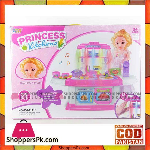 Buy Princess Kitchen Set Toy Or Kids At Best Price In Pakistan