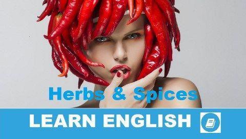 Angol szókincs témakör - Fűszerek