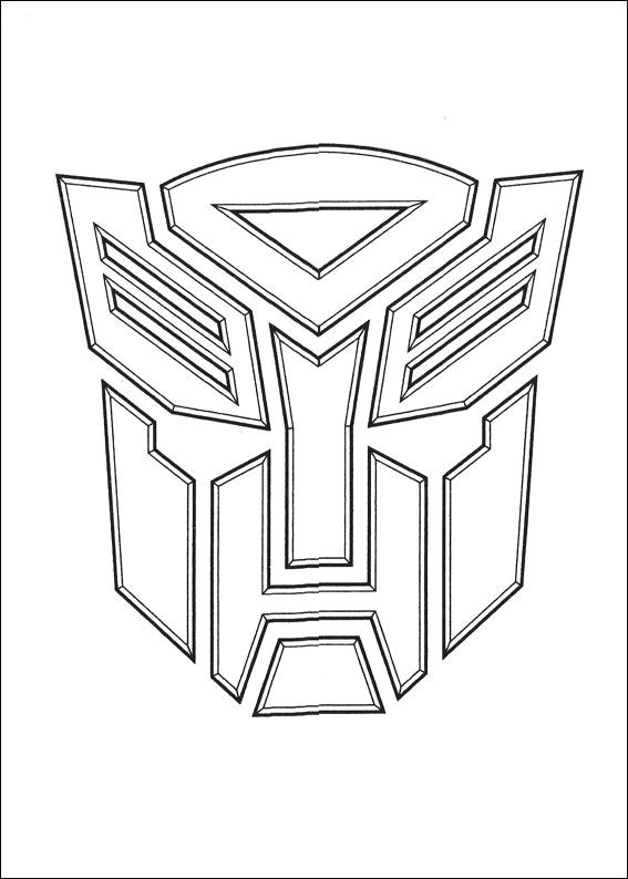 From The Hit Hasbro Movie Transformers Logo Printable