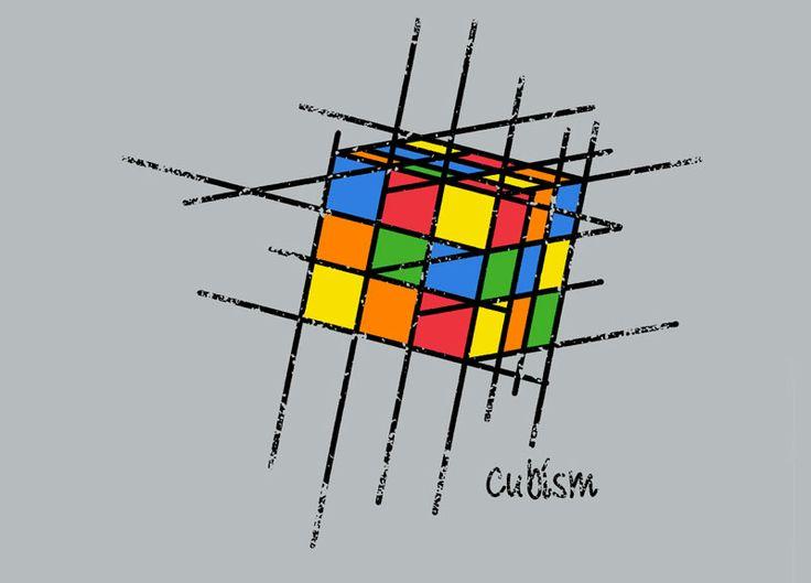 Cubism T-Shirt. Dave Graff aka graffd02