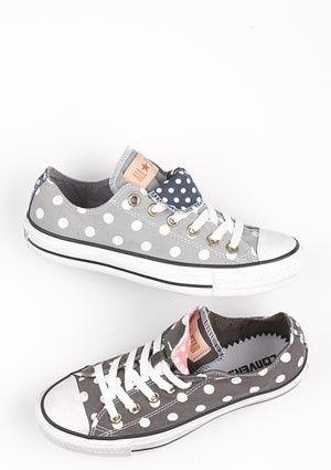 Love love. Love.  polka dot converse