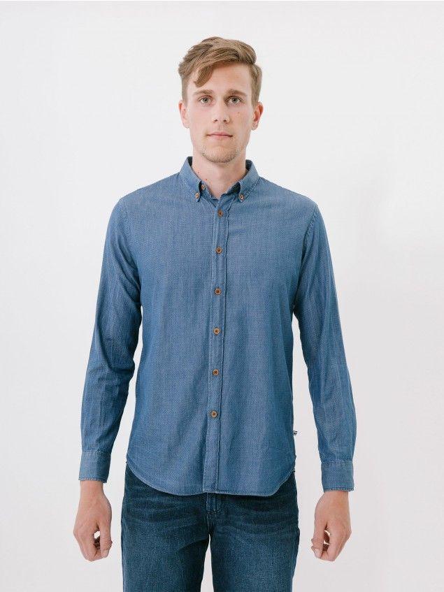 L/S Calzada Blue Shirt //
