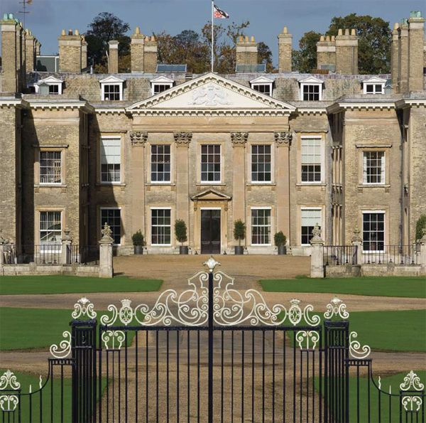 Althorpe House, family home of Earl Spencer and the late Princess Diana's former home, Northamptonshire, UK