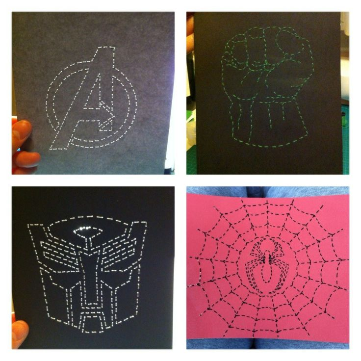 Stitched Art Collage Frame by JSA. #JaimiesStitchedArt