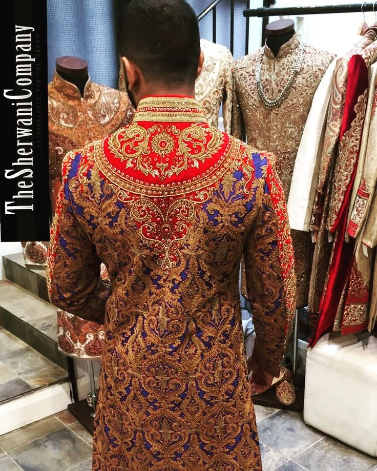 We put the same amount of detail to the back of the sherwani as we do the front.  Call or WhatsApp us on (Jas: +447956 337 754 / Jigar: +447903 866 676). For all Sherwani enquiries.  Book your consultation ONLINE today by visiting our website and clicking the book now tab.  Viewing By Appointment Only Unit 7a, Atlip Centre, Atlip Road, Wembley Middlesex, HA0 4LU  #thesherwanicompany #sherwanicompany #sherwanico #sherwani #designersherwani