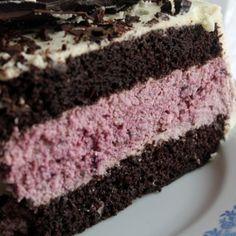 Szedres-túrós csokoládé torta recept