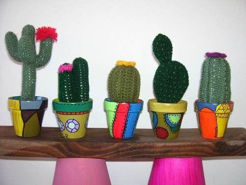 Cactus Tejidos Al Crochet