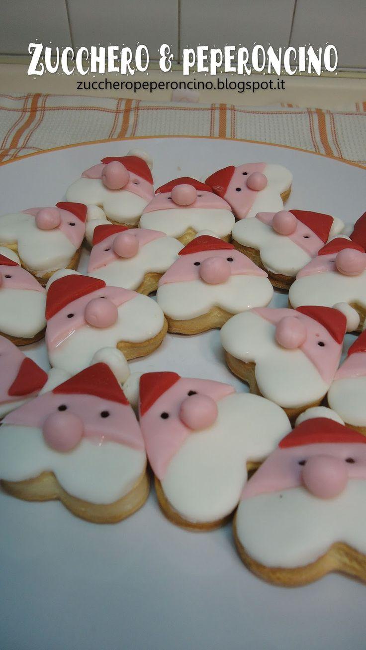 Zucchero e Peperoncino: Biscotti Babbo Natale
