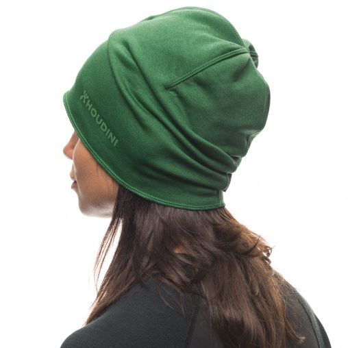 Thin hat in soft, warmer, stretch fleece that works all year round. Cover ears well and fits perfect under your bike, ski or climbing helmet.
