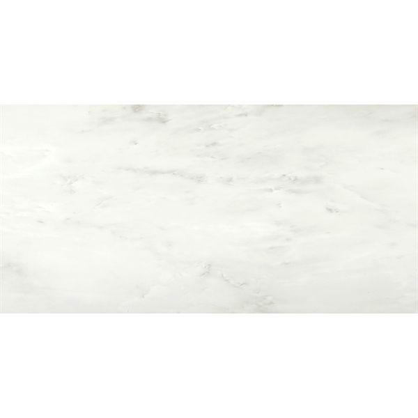 Shop STAINMASTER  18-in x 36-in Carrera Marble Luxury Vinyl Tile at Lowe