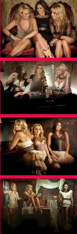 Pistol Annies <3 There heel on high heels,ready to make a deal.