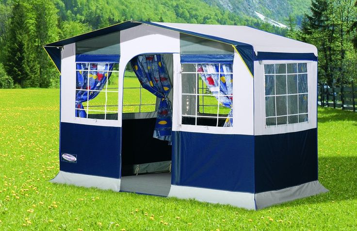 Extra large size family kitchen tent or extra camping space for storage or use as a utility tent.The tent has a huge 2.4x1.4m cooking space. Perfect for use when camping to cook in when the weather isn't so good or for use as an extra living space when t
