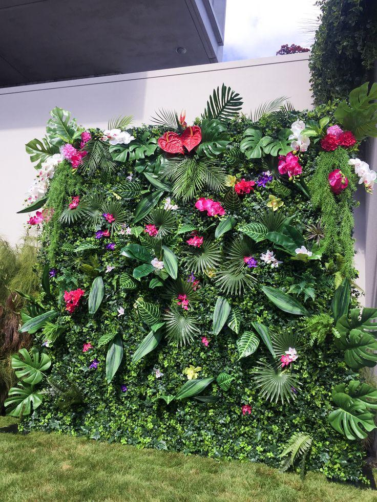 Tropical Flower Wall The Flower Wall Nz Flower Wall