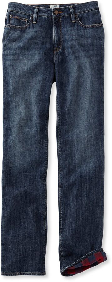 1912 Jeans, Classic Fit Straight-Leg Lined