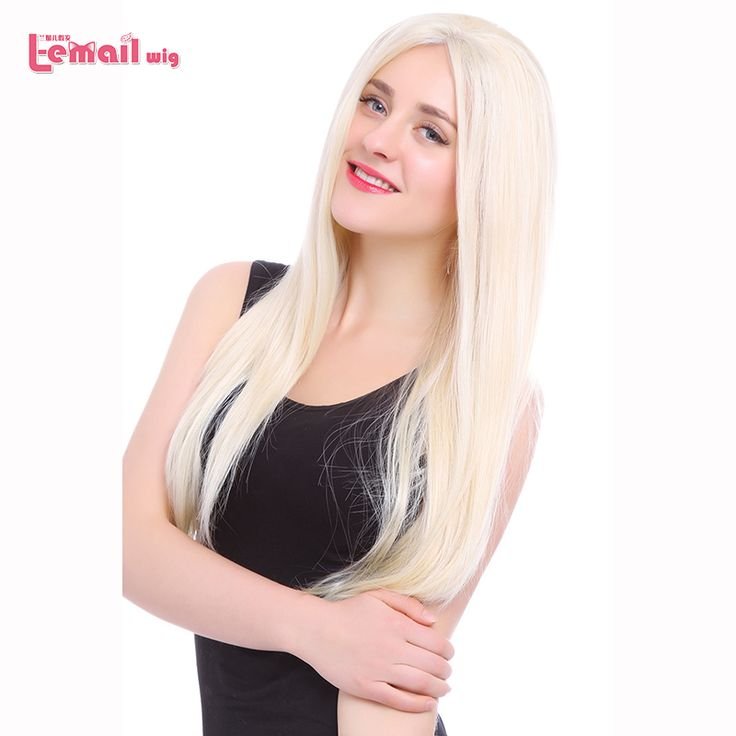 L-email wig 70cm Heat Resistant Long Straight Dark Brown Women Fiber Fashion Synthetic Lace Front Wig Natural Lace Wigs Peruca