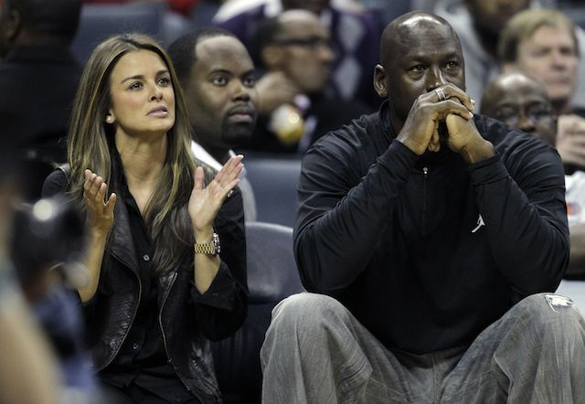 Congrats! Michael Jordan, Wife Welcome Twin Daughters- http://getmybuzzup.com/wp-content/uploads/2014/02/255268-thumb.jpg- http://getmybuzzup.com/congrats-michael-jordan-wife-welcome-twin-daughters/- By Associated Press CHARLOTTE, N.C. — Michael Jordan has more to be happy about than just the improved play of his NBA franchise. RELATED: Another Baby Mama Seeks Money From Michael Jordan His wife, Yvette, has given birth to the couple's identical twin daughters, Jordan&