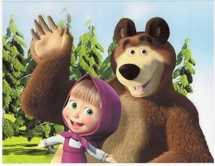 Masha and the Bear.