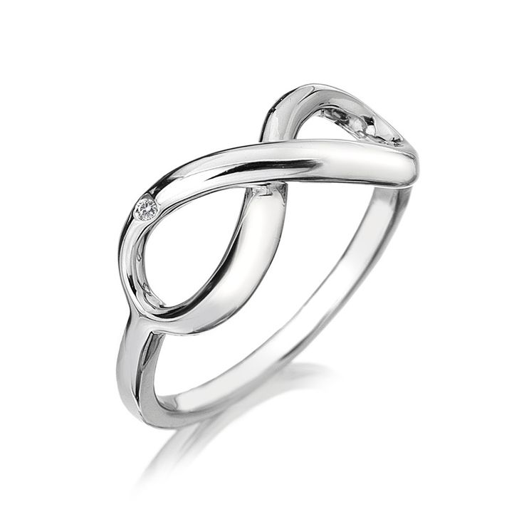 Hot Diamonds - Infinity Ring - Rings