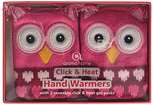 Aroma Home OWL-K-02 Calentadores de mano calor y click Buho