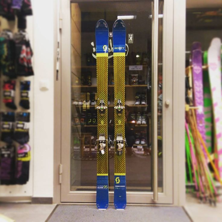 Need a stable, reliable and long living touring ski? Go for the Super Guide! #scottskis #dynafit