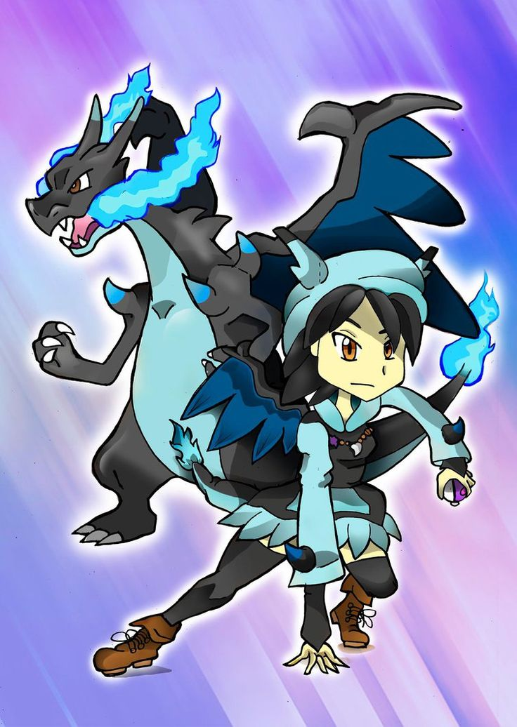 Mega Charizard Girl by Ccjay25.deviantart.com on @DeviantArt